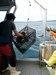 Gabriel Domingues locating lobsters