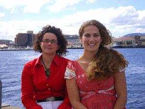 Anne-Elise Nieblas and Bernadette Sloyan