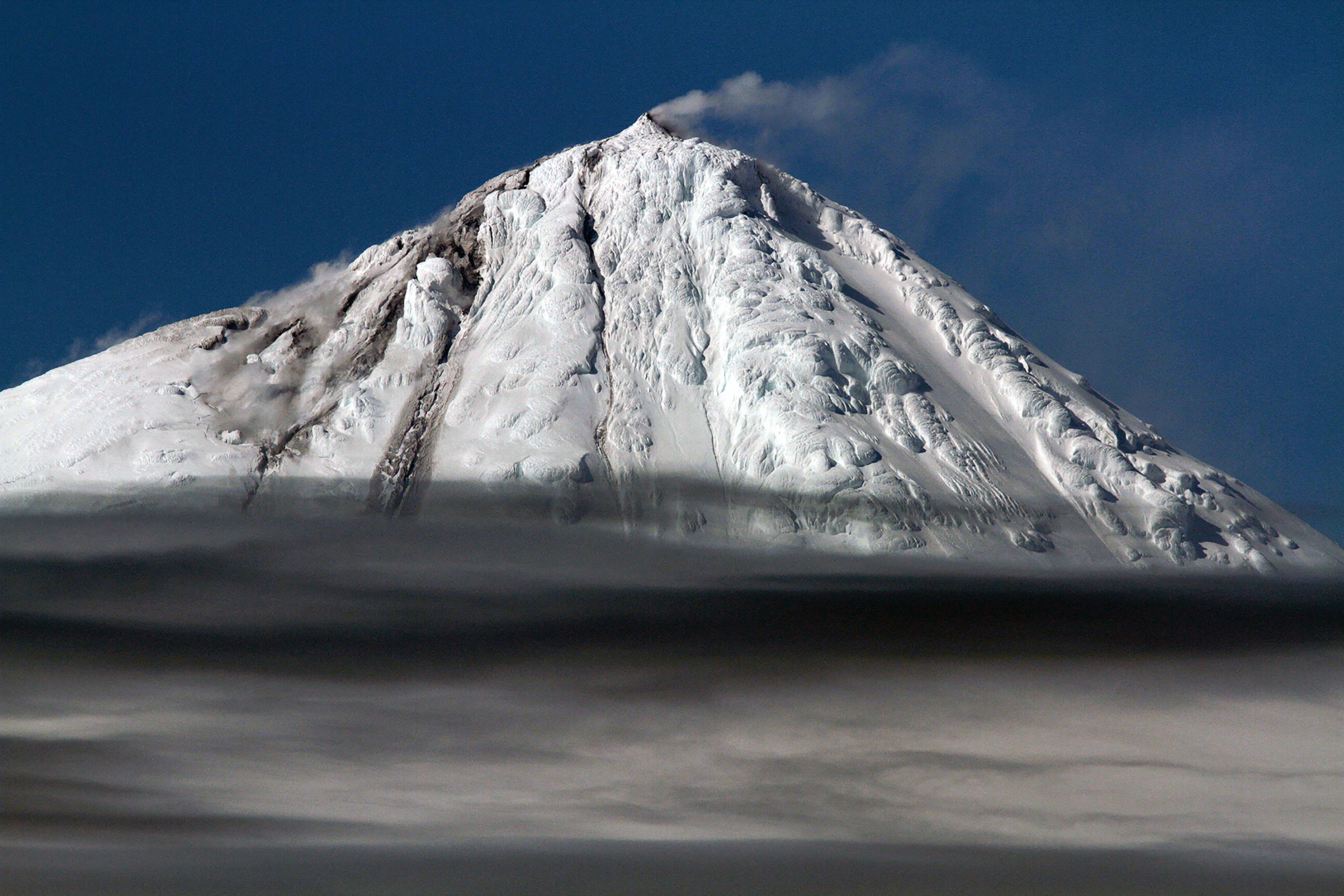 Big Ben erupting