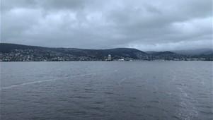 Leaving Hobart